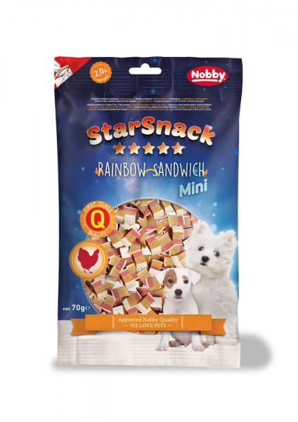 Starsnack Mini Rainbow Sandwich