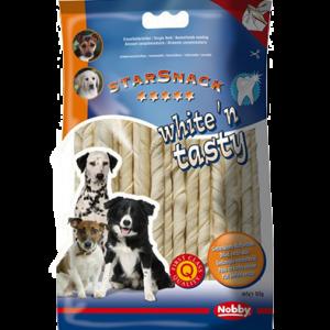 White'n tasty twisted sticks